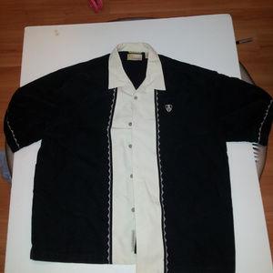 Cubavera Men's XL Button Down Shirt Linen